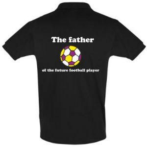 Koszulka Polo The father of the future football player