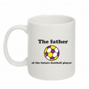 Mug 330ml The father of the future football player