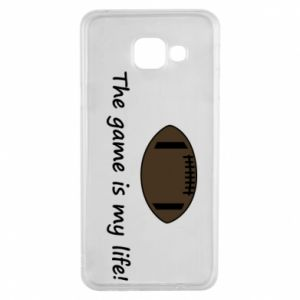 Etui na Samsung A3 2016 The game is my life!