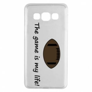 Etui na Samsung A3 2015 The game is my life!