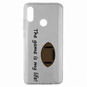 Etui na Huawei Honor 10 Lite The game is my life!