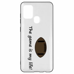 Samsung A21s Case The game is my life!