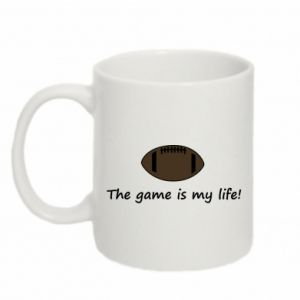 Kubek 330ml The game is my life!