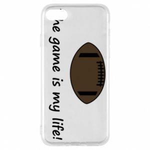 Etui na iPhone 8 The game is my life! - PrintSalon