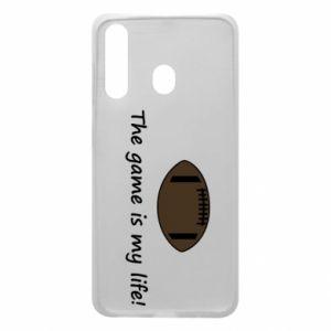 Etui na Samsung A60 The game is my life! - PrintSalon