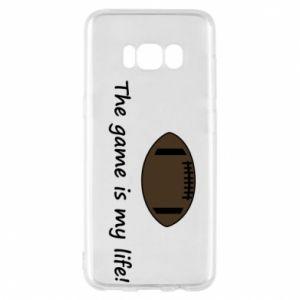 Etui na Samsung S8 The game is my life! - PrintSalon