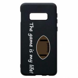 Etui na Samsung S10e The game is my life! - PrintSalon