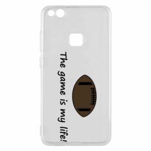 Etui na Huawei P10 Lite The game is my life! - PrintSalon