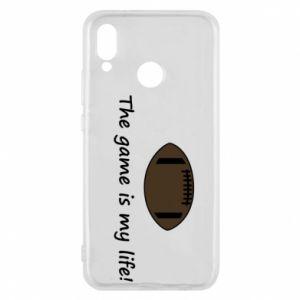 Etui na Huawei P20 Lite The game is my life! - PrintSalon