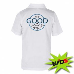 Koszulka polo dziecięca The good things