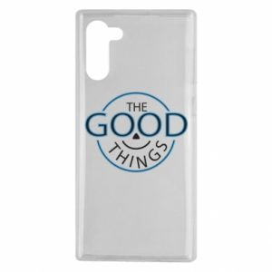 Etui na Samsung Note 10 The good things