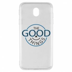 Etui na Samsung J7 2017 The good things
