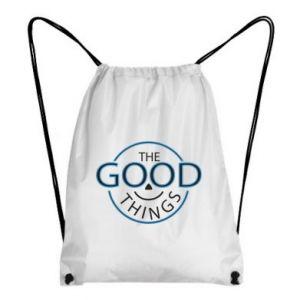 Backpack-bag The good things