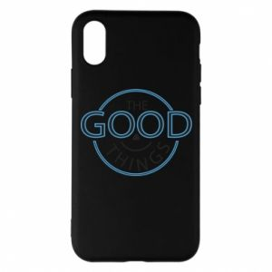 Phone case for iPhone X/Xs The good things