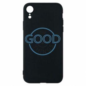 Etui na iPhone XR The good things