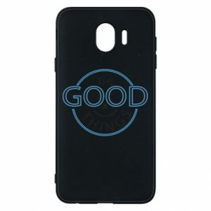 Phone case for Samsung J4 The good things
