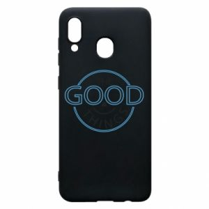 Phone case for Samsung A20 The good things