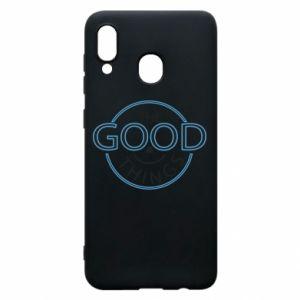 Etui na Samsung A20 The good things
