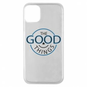 Etui na iPhone 11 Pro The good things