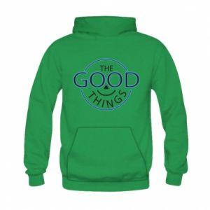 Bluza z kapturem dziecięca The good things