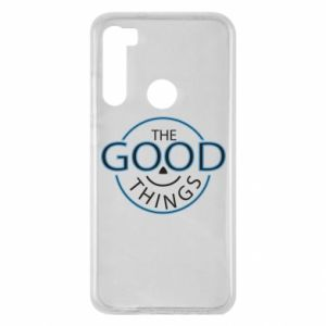 Etui na Xiaomi Redmi Note 8 The good things