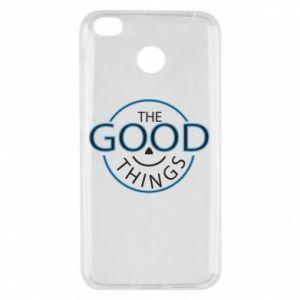 Etui na Xiaomi Redmi 4X The good things