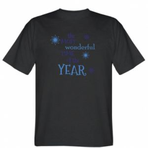 T-shirt The most wonderful time of the year