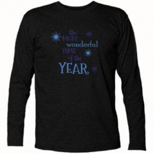 Koszulka z długim rękawem The most wonderful time of the year