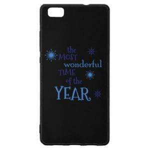 Huawei P8 Lite Case The most wonderful time of the year