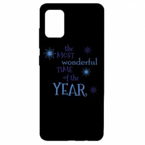 Etui na Samsung A51 The most wonderful time of the year