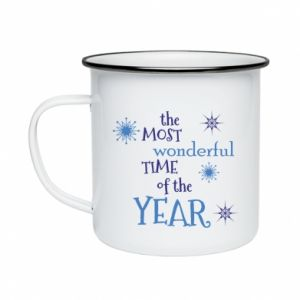 Enameled mug The most wonderful time of the year