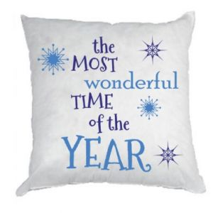 Pillow The most wonderful time of the year
