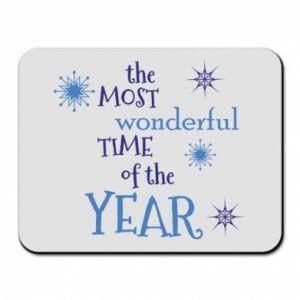 Podkładka pod mysz The most wonderful time of the year