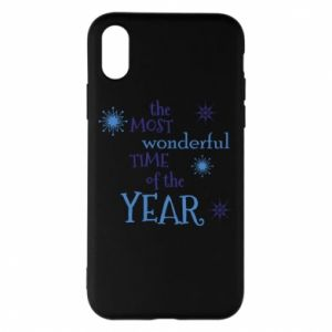 iPhone X/Xs Case The most wonderful time of the year