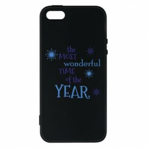 Phone case for iPhone 5/5S/SE The most wonderful time of the year