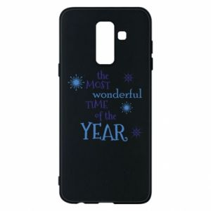 Etui na Samsung A6+ 2018 The most wonderful time of the year