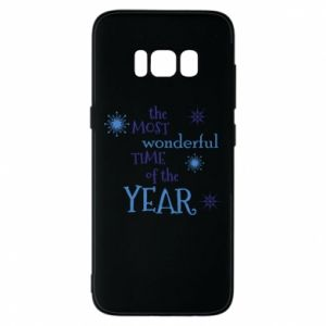 Phone case for Samsung S8 The most wonderful time of the year