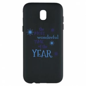 Etui na Samsung J5 2017 The most wonderful time of the year