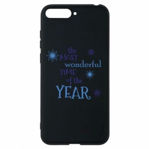Etui na Huawei Y6 2018 The most wonderful time of the year