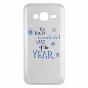Etui na Samsung J3 2016 The most wonderful time of the year