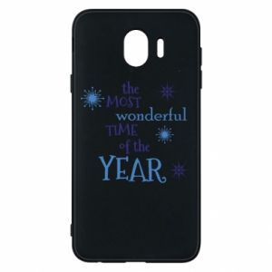 Samsung J4 Case The most wonderful time of the year
