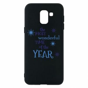 Etui na Samsung J6 The most wonderful time of the year