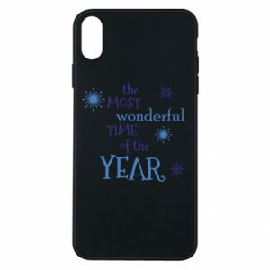 Phone case for iPhone Xs Max The most wonderful time of the year