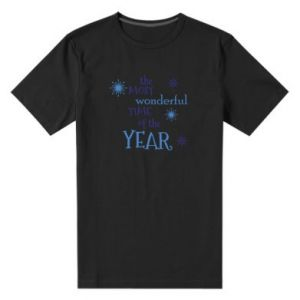Men's premium t-shirt The most wonderful time of the year