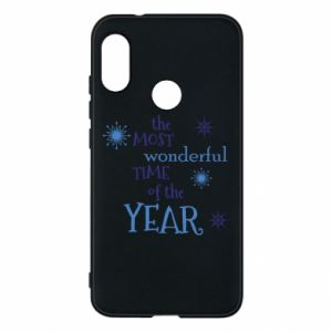 Phone case for Mi A2 Lite The most wonderful time of the year