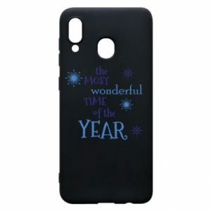 Samsung A20 Case The most wonderful time of the year