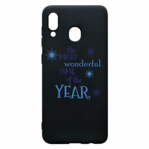 Samsung A30 Case The most wonderful time of the year