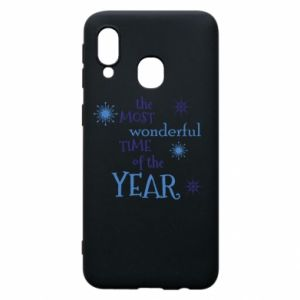 Etui na Samsung A40 The most wonderful time of the year