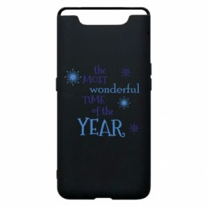 Etui na Samsung A80 The most wonderful time of the year