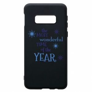 Etui na Samsung S10e The most wonderful time of the year
